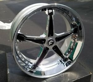 22 Mercedes G Wagon G55 Forgiato Rims G Class G300 G400 G500 G550 G55 Wheels