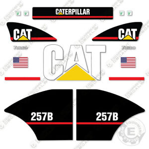 Caterpillar 257b Decal Kit Equipment Decals Older Style