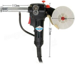 Miller Mig Spool Gun Push Pull Feeder Aluminum Welding Torch With 1m Cable