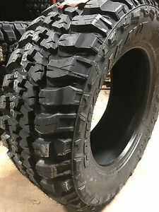 2 New 35x12 50r17 Federal Couragia Mud Tires M t 35125017 R17 1250 12 50 35 17