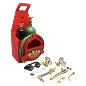 Forney Light Duty Oxygen Acetylene Victor Type Tote A Torch Kit Plasma Cutter