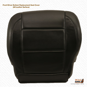 2011 2012 2013 Driver Bottom Replacement Leather Cover For Nissan Titan Black