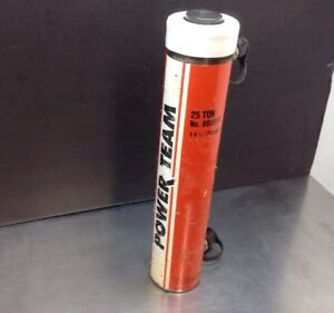 Spx Power Team Rd2514 25 Ton Hydraulic 14 Double Acting Cylinder