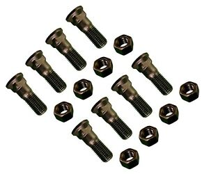 8 Plow Bolt And Nut For Blades Cutting Edges 1 8 X 3 Grade 8 Dome Head