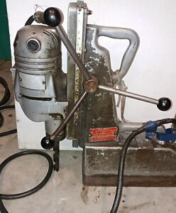 Magnetic Drill Milwaukee Porto Mag Drill Press