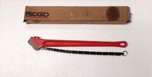 Ridgid 31325 Chain Wrench No c 24 3 75 Mm free Shipping