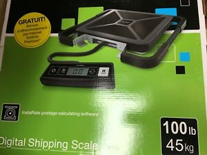 S100 Scale 100lb Digital Shipping Scale Usb Connectivity New In Box