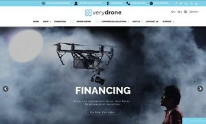 Pre Made Drones Website free Hosting free Traffic Sell Your Stuff Online