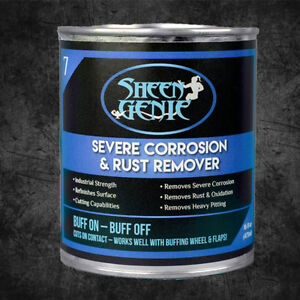 Sheen Genie Severe Corrosion Rust Remover Great For Rusty Bumpers More