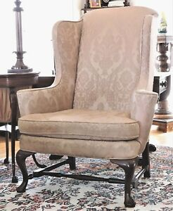 Wingback Arm Chair Century Furniture Co Hickory Nc James River 47 T C1960