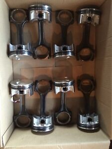 Autotech Ls1 Pistons W Hasting Rings Gm Rods Bore 3 915
