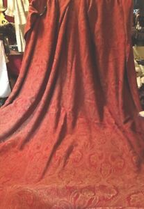 Ant Jacquard Woven Paisley Tapestry Thow Table Cover 55 5 W X 74 L A Wow