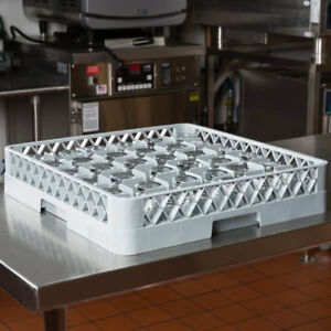 4 Pack Commercial Dishwasher Dish Washer Machine 36 Cup Glass Rack Automatic
