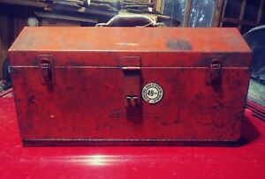 Vintage Snap On Tool Box Very Strong 21 X 11 X 9 49ers Operators Union Oilers