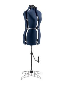 Adjustable Dress Form Medium Large Female Mannequin Body Seamstress Sewing Stand