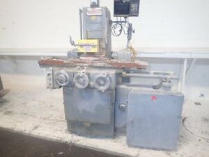 Brown Sharpe 618 Micromaster Surface Grinding Machine 6 X 12 01181750