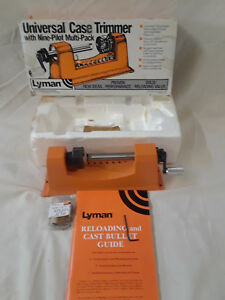 Lyman Universal Case Trimmer with pilots