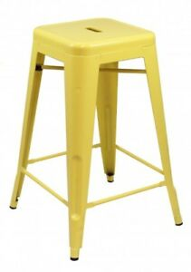 Iron Stool For Home Study Office Look New Design Colour Powder Coating