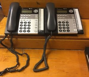 Lot 2 At t 1070 Office Phone 4 line System