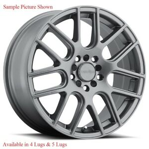 4 New 17 Wheels Rims For Ats Cts Dts Dtx Elr Sts Deville Seville C80003