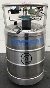 Cryofab Portable Liquid Nitrogen Tank Laboratory Industrial