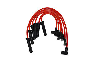 Gmc Chevy 6 Cylinder 230 250 292 6 Cyl 8 0mm Red Silicone Spark Plug Wires Set