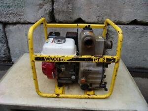 Wacker Pt 2 General Purpose 2 Water Trash Pump Centrifugal Gasoline