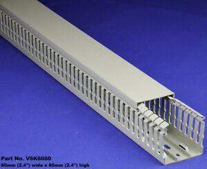12 Sets 2 x2 x2m Gray High Density Premium Wiring Ducts And Covers Ul ce csa