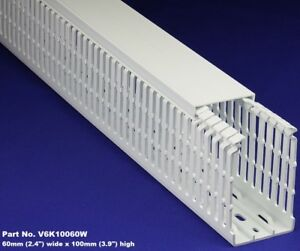 8 Sets 2 x4 x2m White High Density Premium Wiring Ducts And Covers Ul ce csa