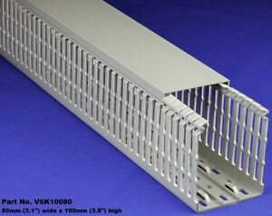 8 Sets Of 3 x4 x2m Gray High Density Premium Wiring Ducts And Covers Ul ce csa