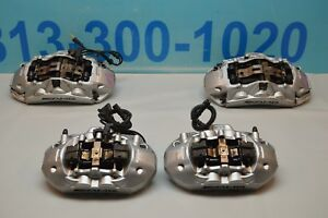 07 11 Mercedes E63 Sl63 Cls63 Amg Brembo Brake Calipers 6 4 Piston P030 E63