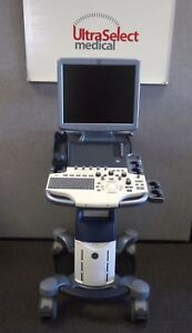 Ge Logiq S 8 Color r2 Revision With Cardiac Cw Doppler Ultrasound System