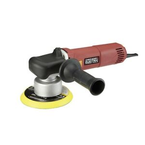 6 In 5 7 Amp Heavy Duty Dual Action Variable Speed Polisher Buffing Cars New