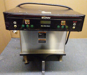 Bunn Icb Twin Infusion Coffee Brewer With Faucet maker Dual Server 37600 0112