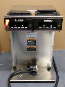 Bunn Cfwt Twin Aps Gf Dual Airpot Commercial Nsf Coffee Maker Air Pot Brewer