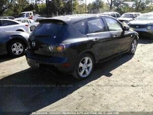 Driver Front Seat Bucket Leather Manual Fits 04 05 Mazda 3 804958