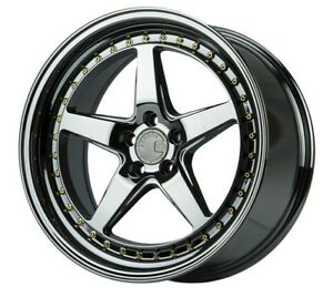 18x8 5 35 18x9 5 30 Aodhan Ds05 5x114 3 Black Vacuum Is300 Is250 Supra Rx7 Rx8