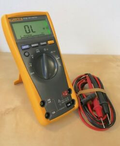 Fluke Digital Multimeter 77 iv 77 4 W probes Free Shipping 77iv