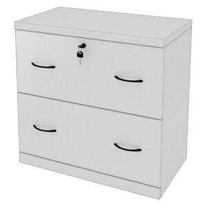 Z line 2 drawer Lateral File White White