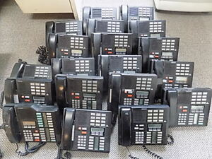 Lot Of 22 Nortel Norstar Meridian M7310 Phone System
