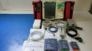 Philips Heartstart Mrx 3 Leads Aed Nibp Spo2 75mm Printer