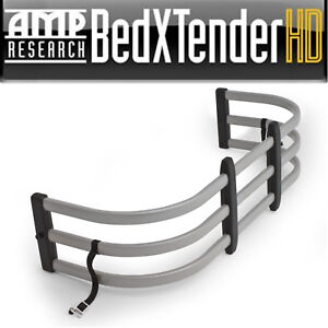 Amp Research Silver Aluminum Bed Xtender Hd Fits 2007 2019 Toyota Tundra