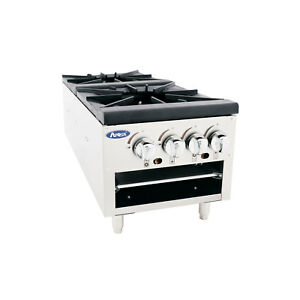 Atosa Atsp 18 2l Commercial Double Stock Pot Stove Lower
