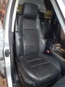07 Range Rover Sport Right Front Seat Leather Hse Power Black Tcl