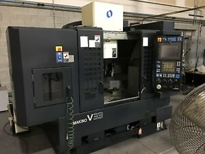 Used Makino V33 Cnc Vertical Machining Center Mill Fanuc 30 000 Rpm Geared 2006