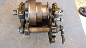 Vintage South Bend Metal Lathe 8 Headstock