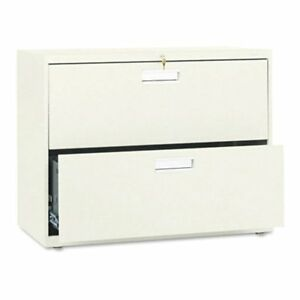 Hon 600 Series 36 Inch Two Drawer Lateral File