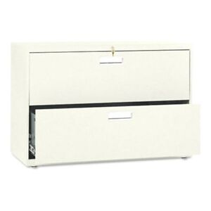 Hon 600 Series 42 Inch Two Drawer Lateral File