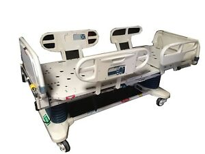 Stryker Secure Ii Hospital Medical Surgical Patient Stretcher Gurney W Scale
