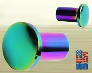 Universal E Brake Handle Lock Drift Spin Turn Aluminum Button Knob Neo Chrome